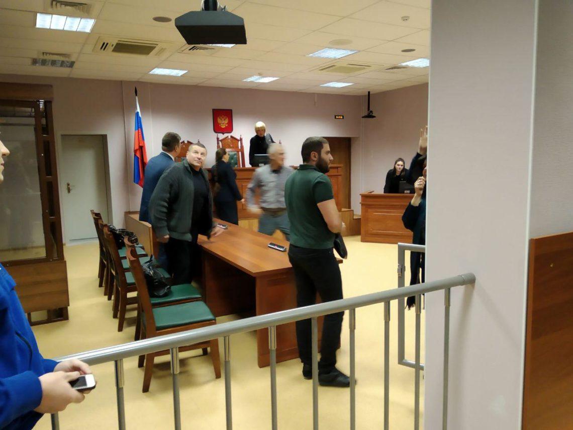 Апелляция по делу Ахумяна и Алексеева