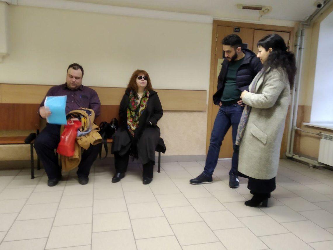 Алексеев и Ахумян: свидетели не явились