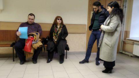 В коридоре суда фото подсудимых